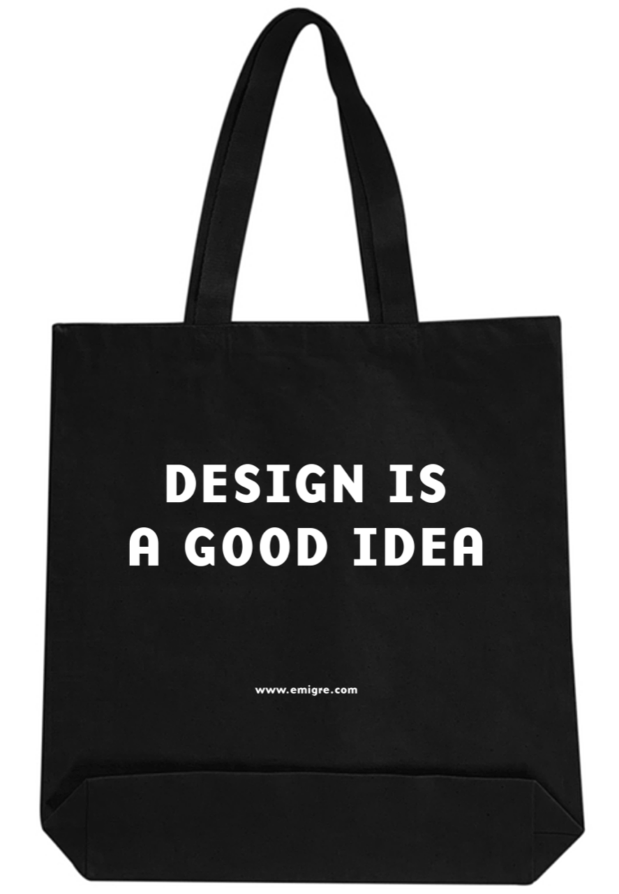 Design is a Good Idea (Tote Bag)