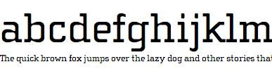 Cholla Web Font