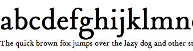 Tribute Web Font
