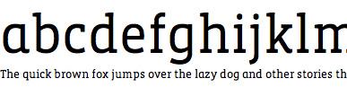 Vista Slab Web Font