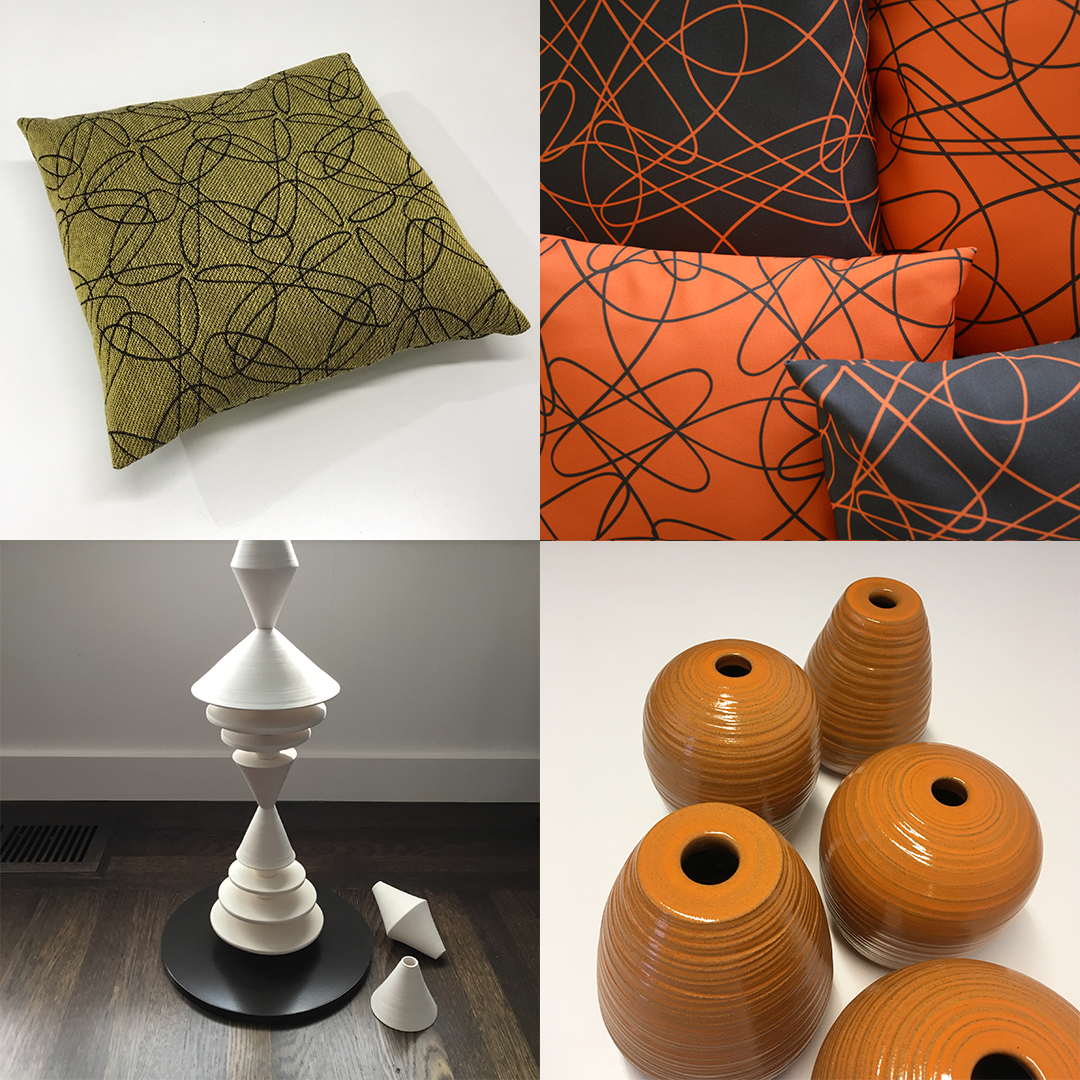 Pillows & Ceramics