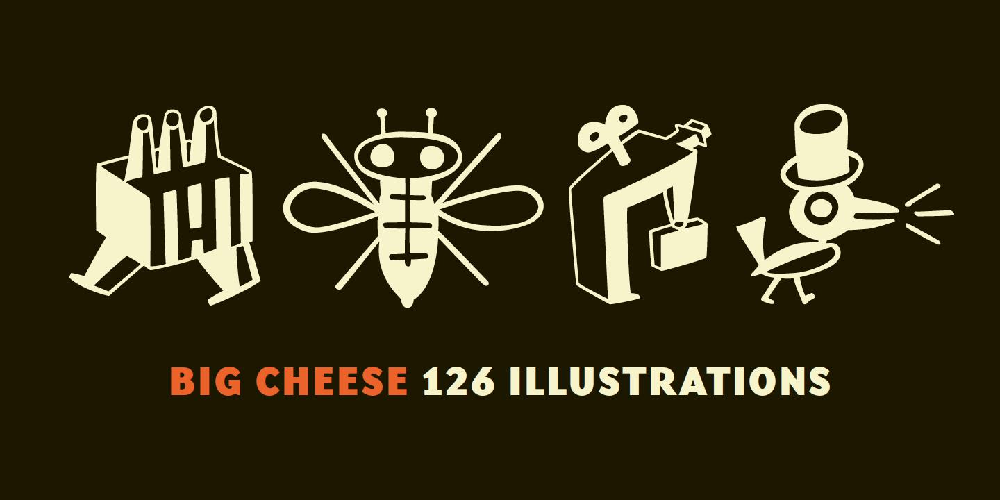 Big Cheese Font Sample 0