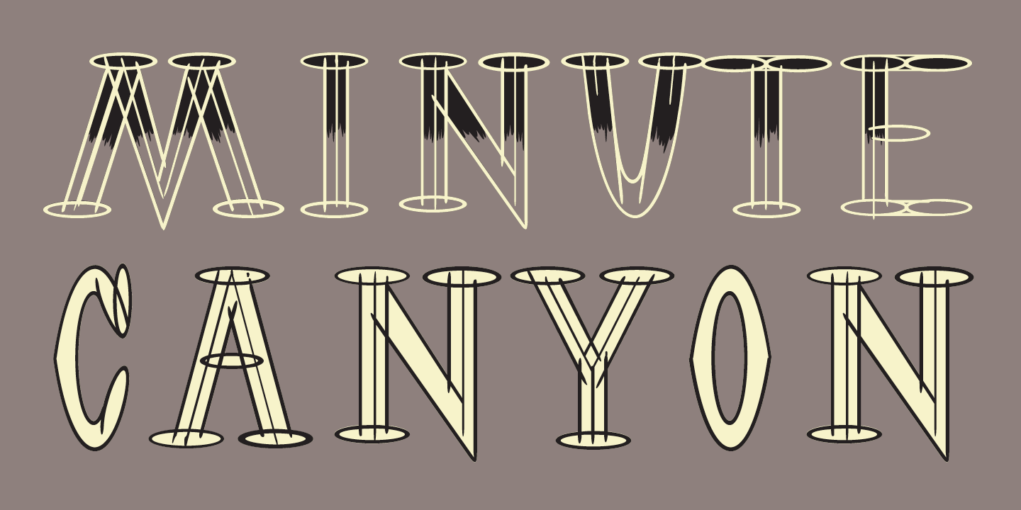 OutWest Font Sample 2