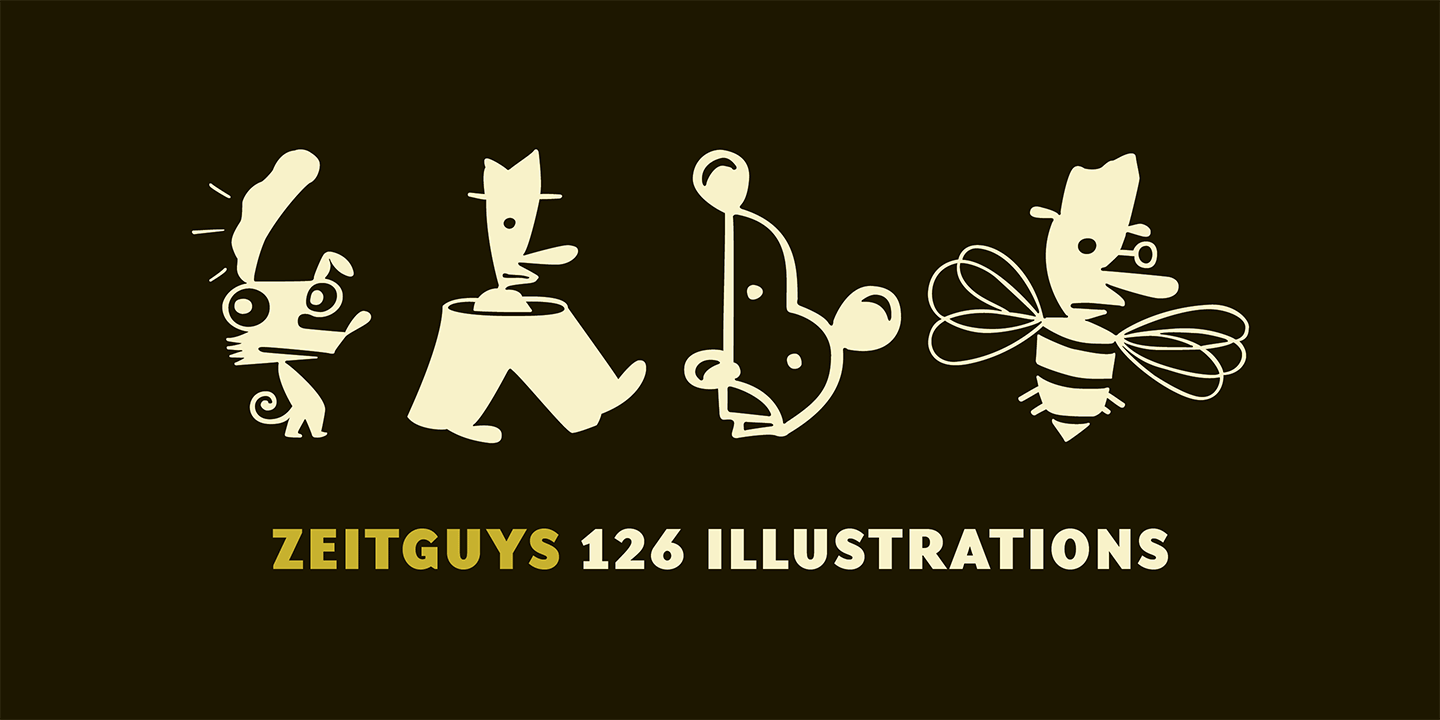 ZeitGuys Font Sample 0