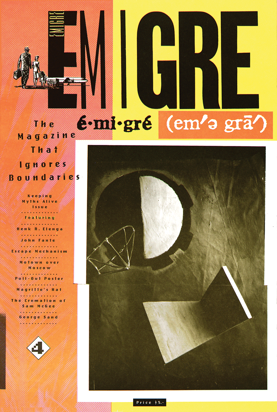Emigre Magazine Issue 4