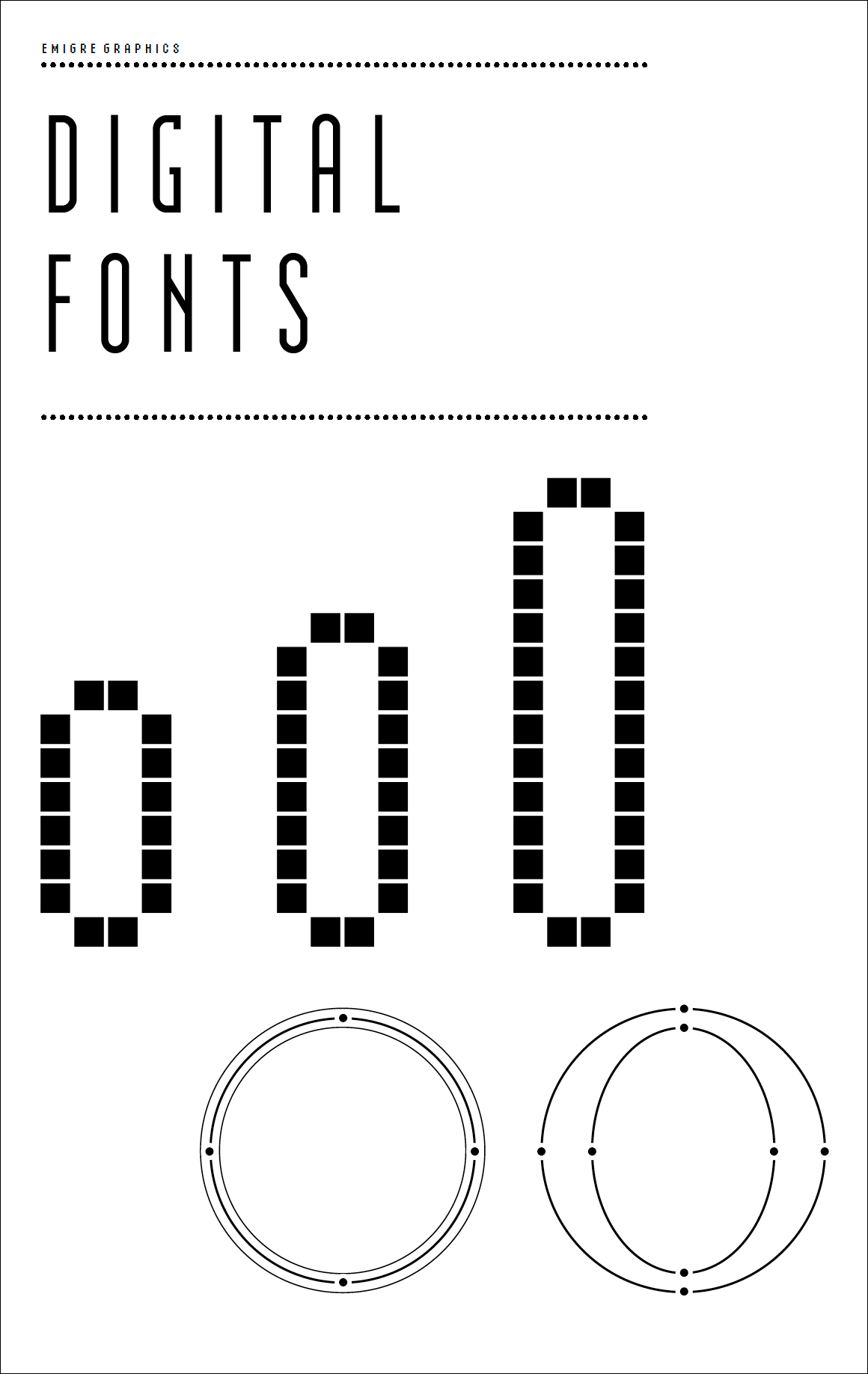 Digital Fonts Font Specimen Catalog