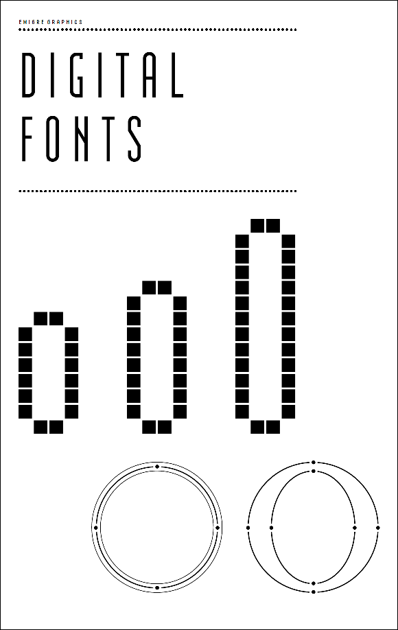 Emigre PDF Cover Digital Fonts
