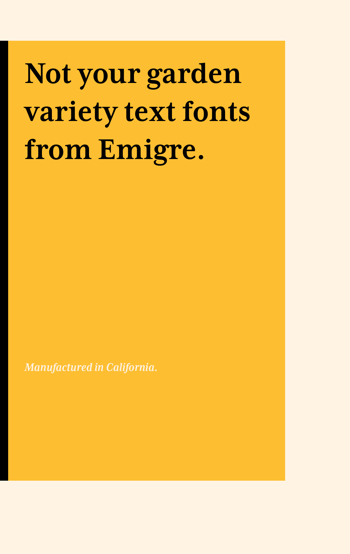 Emigre PDF Cover Not Your Garden Variety