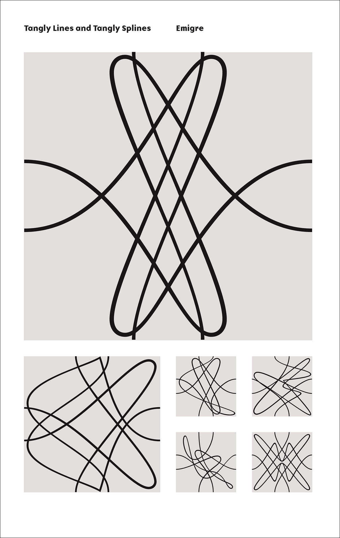 Emigre PDF Cover Tangly